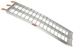 "Aluminum Arched Ramp Heavy-Duty 60"" L x 13"" W (Single 1,500lbs./Double 3,000lbs.) (UTV/ATV/MC)"