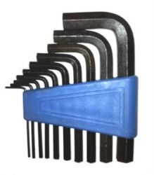 Hex Wrench 10pc Set
